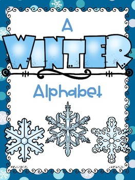 dollar deal: alphabet_full page_winter theme