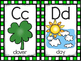 alphabet_half page: st patrick's day theme with recording sheets