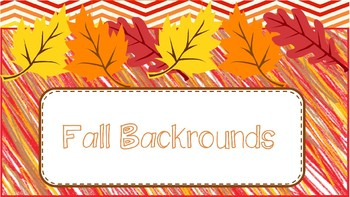 Fall Backrounds FREEBIE!!!