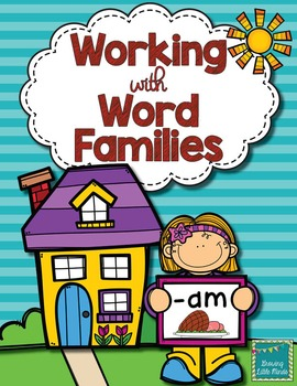 Word Family activities-am
