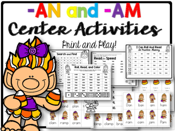 am and an activities and games