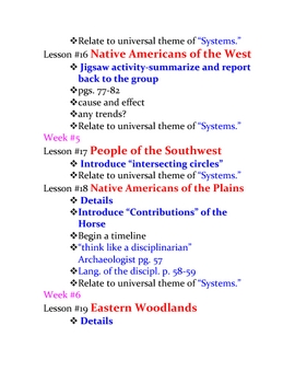 american history lesson plans