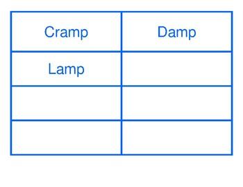 amp Family Words Go Fish
