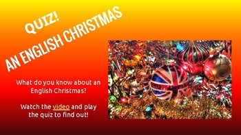 an English Xmas... QUIZ!!!