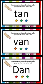 an Word Family Phonemes Crack the Code Chant and Cards