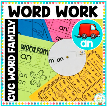 Word Families 'an'