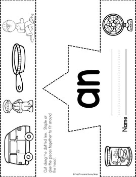 an Word Family Worksheets