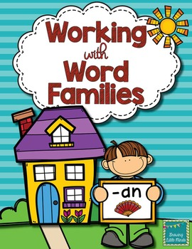 Word Family activities- an