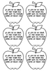 an apple for the parent tag