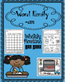 an weekly word family