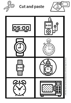 analogue and digital time big sort