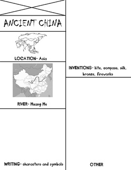 ancient china flip book