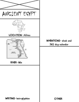 ancient egypt flip book