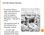 ancient greek theatre powerpoint