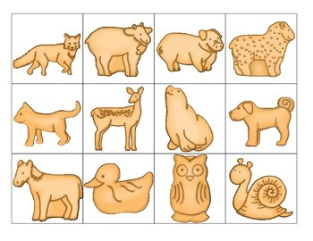 animal crackers: syllable sort