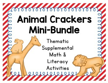 animal crackers: thematic math and literacy activities