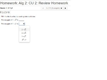 annotated: Algebra 2: CU 2: Review: Polynomial Expressions