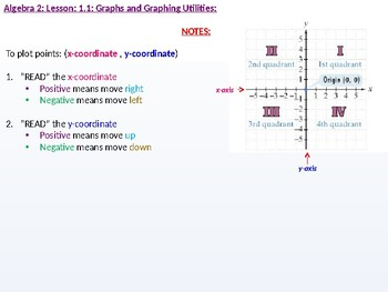 annotated: Algebra 2: CU 3: 1.1: Graphs and Graphing Utilities