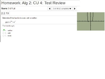 annotated: Algebra 2: CU 4 and 5 Review: Polynomial and Radical Functions