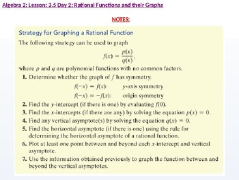 annotated: Algebra 2: CU 6: 3.5 Day 2: Rational Functions and their Graphs