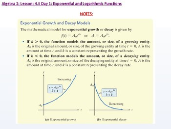annotated: Algebra 2: CU 7: 4.5 Day 1: Exponential Growth and Decay