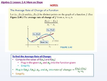 annotated: Algebra 2: CU 9: 2.4: More on Slope