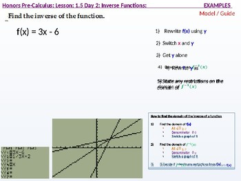 annotated: HPC: CU 1B: 1. Day 2: Parametric Relations and Inverses