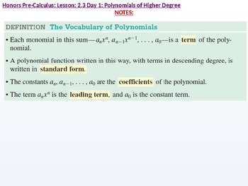 annotated: HPC: CU 2A: 2.3 Day 1: Polynomial functions of Higher Degree with Mod