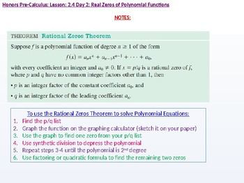 annotated: HPC: CU 2A: 2.4 Day 2: Real Zeros of Polynomial Functions