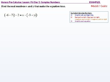 annotated: HPC: CU 2B: P.6 Day 2: Complex Numbers