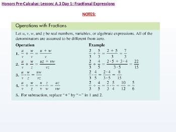 annotated: HPC: CU 3: A.3 Day 1: Fractional Expressions