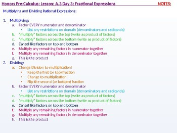 annotated: HPC: CU 3: A.3 Day 3: Fractional Expressions