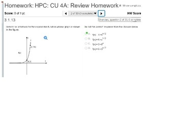 annotated: HPC: CU 4A: Review: Exponential and Logarithmic Functions