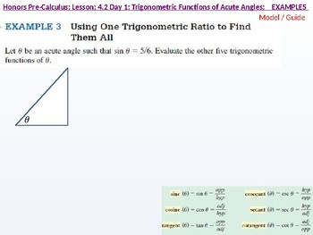 annotated: HPC: CU 5: 4.2 Day 1: Trigonometric Functions of Acute Angles