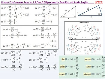 annotated: HPC: CU 5: 4.2 Day 2: Trigonometric Functions of Acute Angles