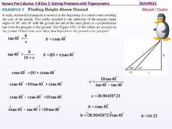 annotated: HPC: CU 6: 4.8 Day 2: Solving Problems with Trigonometry
