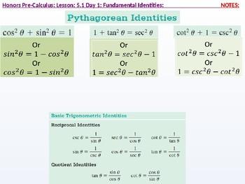 annotated: HPC: CU 7A: 5.1 Day 1: Fundamental Identities