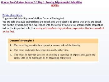 annotated: HPC: CU 7A: 5.2 Day 1: Proving Trigonometric Identities