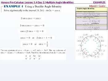 annotated: HPC: CU 7A: 5.4 Day 2: Multiple Angle Identities