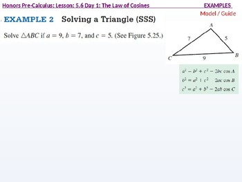annotated: HPC: CU 7B: 5.6 Day 1: The Law of Cosines