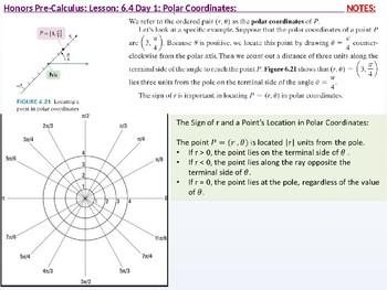 annotated: HPC: CU 9: 6.4 Day 1:  Polar Coordinates