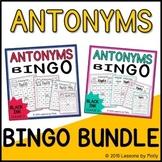 Antonyms Games One and Two Bundle {Black Ink}