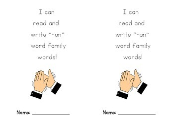 """ap"" Word Family Book"