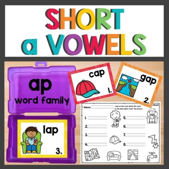 ap Word Family Phonics Pack