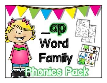 ap Word Family Phonics Pack