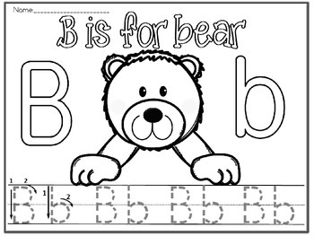 alphabet B(free)