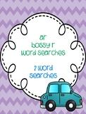 ar Bossy R Word Searches!