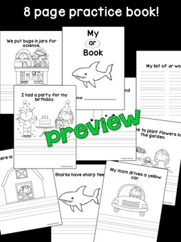 ar Phonogram Book & Poster Pack with Phonics Practice