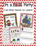 /ar/ Pirate Party Packet! (Poster, Games and Worksheets included)
