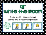 ar R-Controlled Write the Room/Word Work